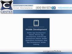 Centex Technologies, leading Atlanta SEO Company offers Pay Per Click, Web Design and Search Engine Optimization services in Atlanta, GA. Iphone App Development, Seo Sem, Mobile Technology, Local Seo, Seo Company, Seo Services, Mobile Application, Search Engine Optimization, Atlanta