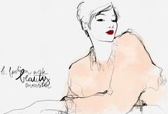 Las Muniecas: We love : Garance Doré illustration
