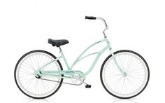 Remember fun? Imagine where you could go on a CRUISER 1 by Electra--available in purple, blue, black, mint, pink, white, white, mint, pink. Explore the wide variety of stylish, creative designs and find the perfect Cruiser to suit your individuality and imagination.