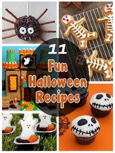 11 Fun Halloween Recipes