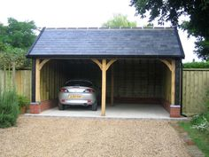 Cart Lodge and Garage Construction - Classic Suffolk Timberframes