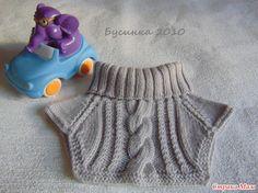 Манишка детская Knitting For Kids, Baby Knitting, Neck Warmer, Mittens, Boho Shorts, Knitted Hats, Knitting Patterns, Knit Crochet, Baby Boy