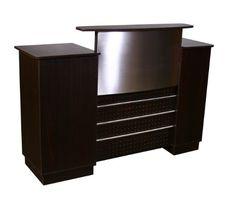 Mandy Salon Reception Desk - Ebonywood Deco Salon Furniture http://www.amazon.com/dp/B00CXY30Y4/ref=cm_sw_r_pi_dp_5YEnvb1HYHQXR