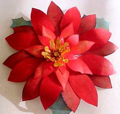 Poinsettia Decoration svg cutting file