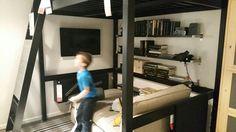 Ikea loft bed/hang out