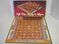 Vintage All the Kings Men Board Game Parker Brothers 1979 #ParkerBrothers