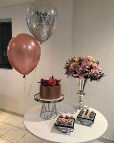 Birthday Table, 20th Birthday, Birthday Celebration, Birthday Party Themes, Happy Birthday, Simple Birthday Surprise, Simple Birthday Decorations, Birthday Goals, Happy B Day