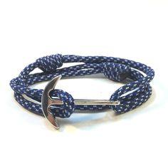 B-Spec Adjustable Paracord Curved Silver Anchor Bracelet  #papabearshouse #blue #handmade #share #bracelets #bracelet #etsy #etstseller #etsyshop #paracord #paracordbracelet #armcandy #silver #armswag #wristgame #pretty #love #beautiful #adjustable #braceletstacks #trendy #fashion #jewelry #armparty #wristwear #anchor #anchorbracelet