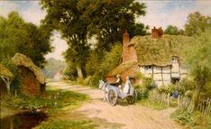 Calle de un pueblo