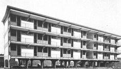 Adalberto Libera - Unità d'abitazione orizzontale, Tuscolano  1953