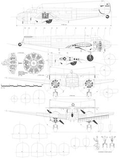 Scale Drawings, Aircraft Painting, Blue Prints, Hubble Space Telescope, Aircraft Design, 3d Modeling, Cutaway, Concept Art, How To Plan
