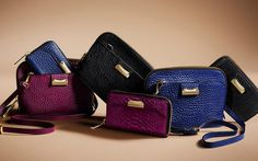 Autumn/Winter 2013 wallets and crossbody bags from Burberry