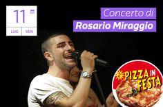 Rosario Miraggio in concerto a Magic World per il Pizza in Festa!