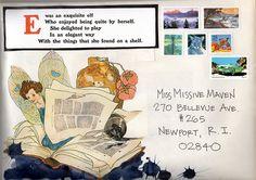 mail art by dumpdterdiversanonymous