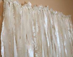 Items similar to Gypsy Boho Curtain Fabric Garland Backdrop - Dorm, Teen Room,  Decor - Hippie, Indie, Caravan, Moroccan - 10 ft x 6 ft on Etsy