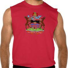 Antiqua and Barbuda Coat of Arms  Sleeveless T Sleeveless Tee Tank Tops