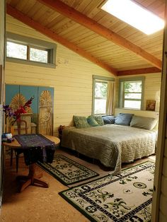 Stay in a yurt in Sacred Groves, Washington State.
