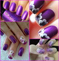 purple wedding nails Purple Wedding Nails, Bling Nails, Big Day, Finding Yourself, Beauty, Beauty Illustration, Glitter Nails