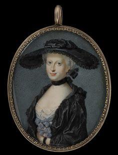Madame de Pompadour (Actress Margaret Peg Woffington, by Nathaniel...)