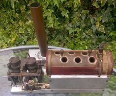 Video twin cylinder boat ship marine steam plant engine with reverse boiler Boiler, Twin, Engineering, Outdoor Decor, Plants, Electrical Engineering, Flora, Plant, Twins