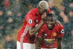 Eric Bailly joined Pogba as another of United's big money arrivals at Old Trafford...