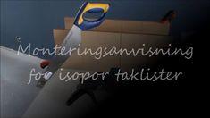 Monteringsanvisning for isopor taklister fra Fimline Dekor Company Logo