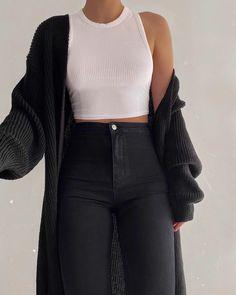 Mode Inspiration und Trend Outfits für lässigen Look Teenage Outfits, Winter Fashion Outfits, Fashion Clothes, Fall Outfits, Summer Outfits, Fall Clothes, Flannel Outfits, School Outfits, Grunge Outfits