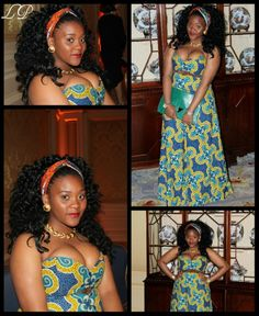 Ankara Maxi Dress BLOG:FACEBOOK/PUKSIES WARDROBE TUMBLR:THATBENINPRINCESS YOUTUBE: ENIBABY4