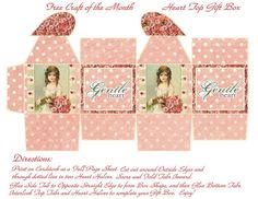 valentine miniatures | miniature printable | MINIATURE VALENTINE'S DAY
