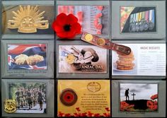 ANZAC pocket letter via Sarah Sparrow