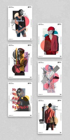 Poster Design Layout, Creative Poster Design, Creative Posters, Graphic Design Projects, Graphic Design Posters, Fashion Graphic Design, Poster Designs, Collage Design, Art Design