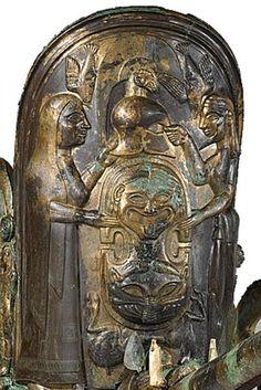 Il Pannello Centrale della Biga o Carro Etrusco - Monteleone di Spoleto