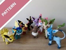 Eeveelutions 💕 So happy with how they turned out - especially jolteon & leafeon. The patterns are listed in my Etsy shop (link in bio) ✨ . Pokemon Crochet Pattern, Pikachu Crochet, Amigurumi Patterns, Crochet Patterns, Crochet Ideas, Minecraft Pixel Art, Minecraft Quilt, Crochet Animals, Crochet Toys