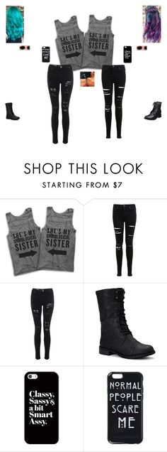 """""""Miss my bestie!"""" by ashleighb15 ❤ liked on Polyvore featuring moda, Miss Selfridge, Nature Breeze, Casetify, women's clothing, women's fashion, women, female, woman i misses"""