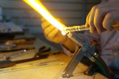 The Forks: Bayshore Gifts in Glass: Lamp Work Lesson