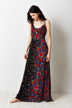 Kimchi Blue Wildflower Maxi Dress #urbanoutfitters