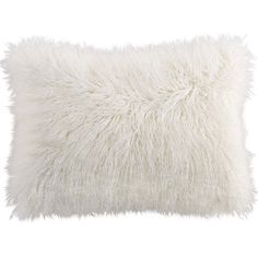 Pier 1 Imports Faux Fur Mongolian Lumbar Pillow ($35) ❤ liked on Polyvore featuring home, home decor, throw pillows, pillow, pier 1 imports, faux fur throw pillows, cream throw pillows, beige throw pillows and ivory throw pillows