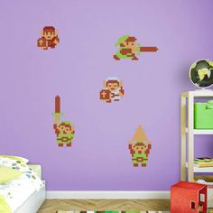 Fathead The Legend of Zelda Classic Link Wall Decal Collection - 1089-10020 | Pinterest | Zelda classic Wall decals and Products  sc 1 st  Pinterest & Fathead The Legend of Zelda Classic Link Wall Decal Collection ...