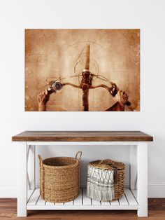 Bike Poster, Protective Packaging, Canvas Poster, Sports Art, Paper Size, Canvas Size, Entryway Tables, Giclee Print, Biker