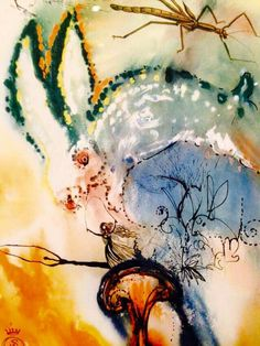Salvador Dali - Alice In Wonderland