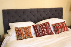 15 Favorite DIY Upholstered Headboards {with tutorials!}