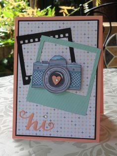 January class card on film framelits and Snapshot