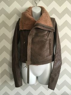 http://www.athenefashion.com/ebay/quick-ends-soon-rick-owens-nwt-4250-womens-leather-shearling-fur-biker-moto-jacket-size-6/ nice Quick Ends Soon RICK OWENS NWT $4,250 Women's Leather & Shearling Fur Biker Moto Jacket Size 6
