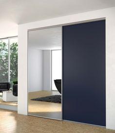 Porte de placard Prémio - collection acier SOGAL TANGUY Matériaux