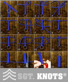 Paracord Keychain Tutorial - Easy Paracord Survival Key Faab Instructions You are in the right place for Camping knots vi - Paracord Braids, Paracord Knots, Paracord Keychain, Diy Keychain, Paracord Bracelets, Paracord Tutorial, Paracord Ideas, Survival Knots, Survival Prepping