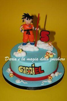#Dragonball cake #Torta Dragonball  #Goku