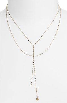 Lana Jewelry 'Petite Blake' Lariat Necklace (Nordstrom Exclusive)   Nordstrom
