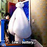 Low battery... so accurate and one of the best movies ever.