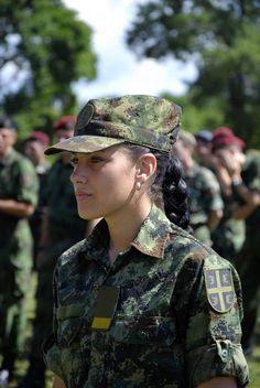 Serbian soldiers women.jpg
