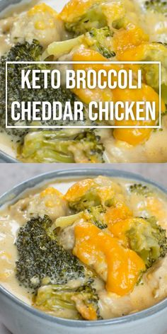 Keto Broccoli Cheddar Chicken (One Pan Recipe) Easy Keto Broccoli Cheddar Chicken! When you need some low carb comfort food try this Keto Broccoli Cheddar Chicken! A one pan, low carb dinner under 7 net carbs per serving. Quick Easy Meals, Healthy Dinner Recipes, Easy Diabetic Recipes, Lunch Recipes, Easy Low Carb Recipes, Healthy Low Calorie Dinner, Low Sodium Recipes, Ketogenic Recipes, Broccoli Cheddar Chicken